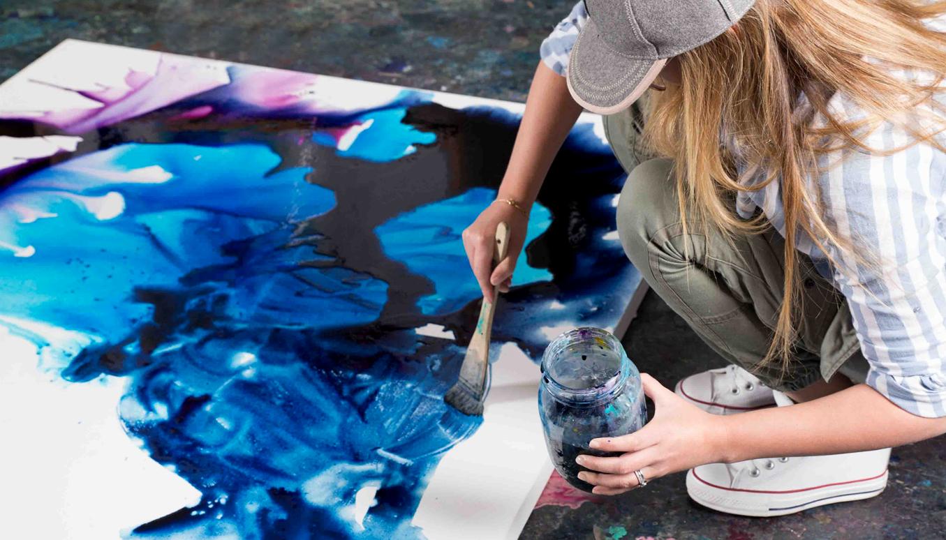 Artist Jessica Skye Baker, Resin Artworx, Resin Art, Baker Collection