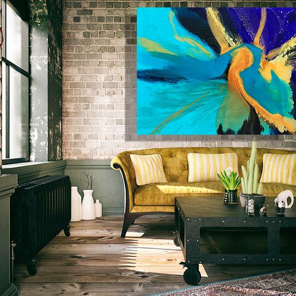24 Karat Gold by Artist Jessica Skye Baker