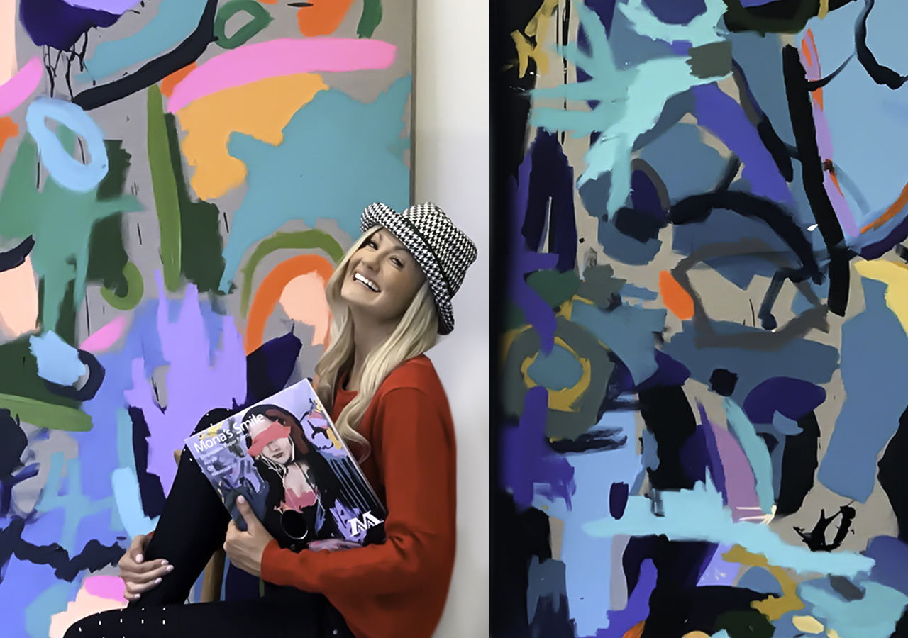 Artist Nicki Comelli