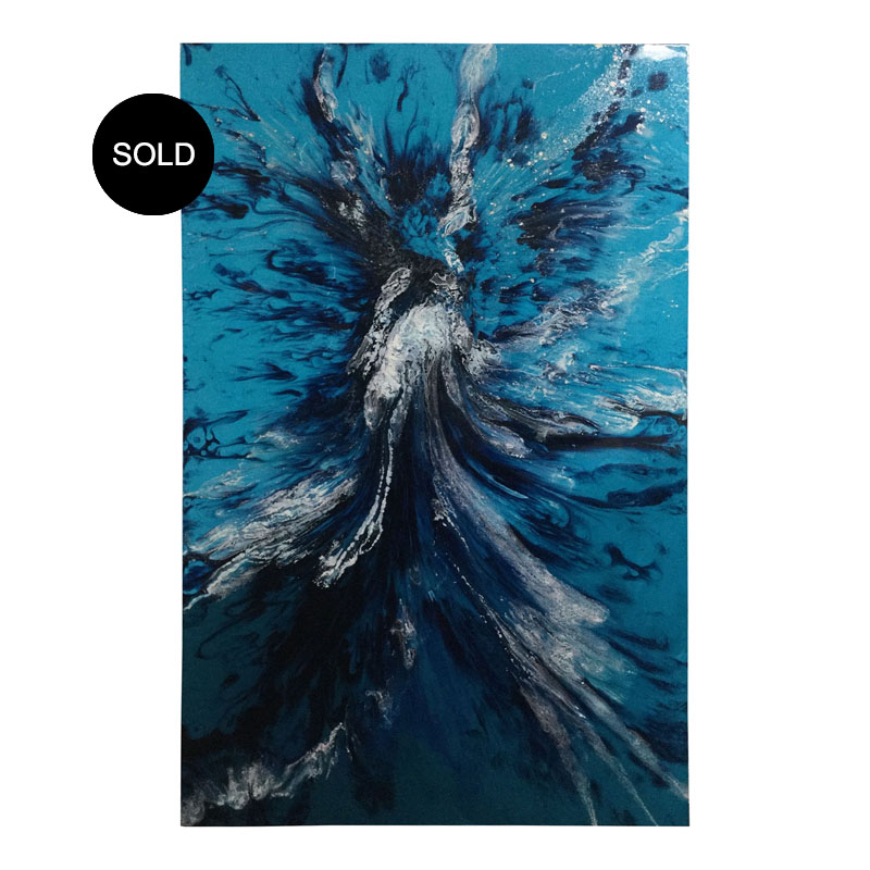 Big artwork buy from renowned Australian resin artist Jessica Skye Baker at the Baker Collection.