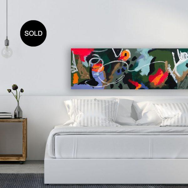 Paintings online 'Hold Your Horses' by Australian artist Nicole Baker