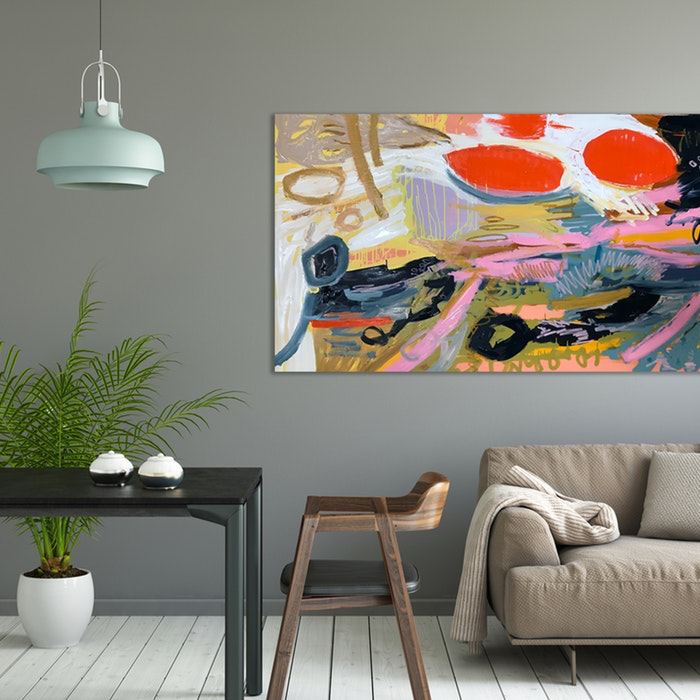 Dapper Original Abstract Artwork