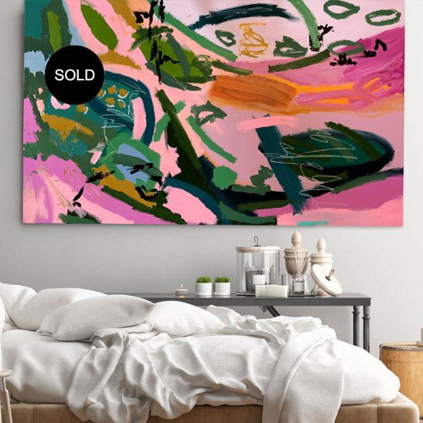 SOLD 'Elements' by Australian artist Nicole Baker
