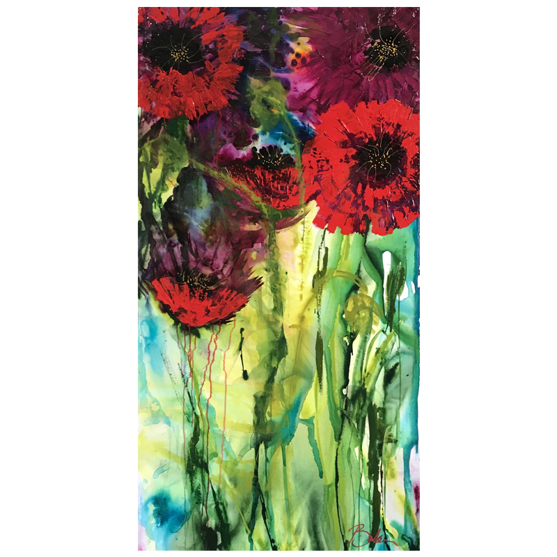 Original Artworks Peace Poppies