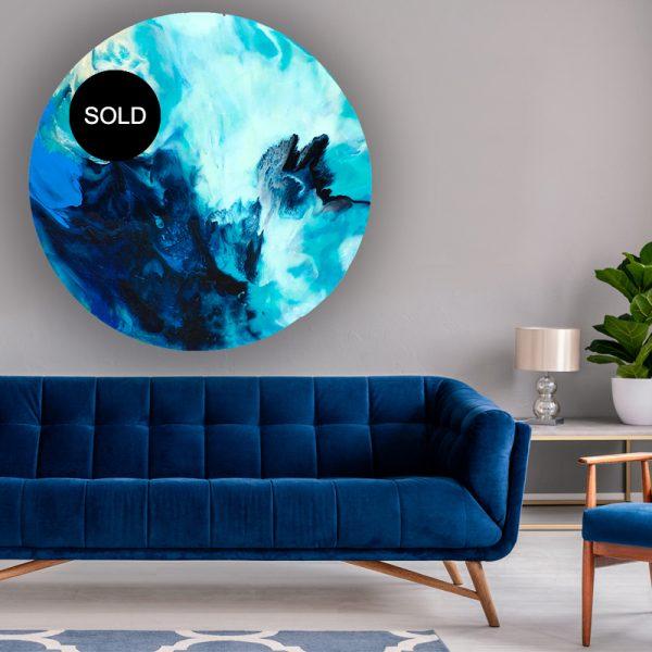 Australian resin art SOLD timeless reference by artist Jessica Skye Baker