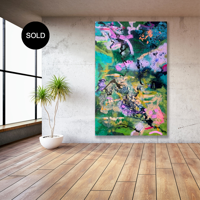 Sold 'Midnight Mojito' by Australian artist Nicki Comelli