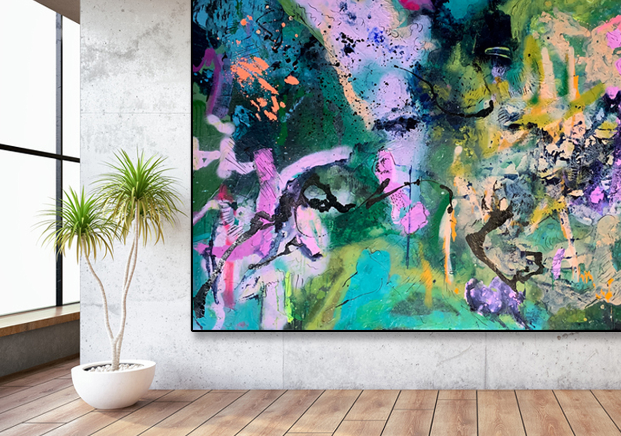 'Midnight Mojito' by Australian Artist Nicole Baker