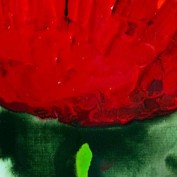 Cartel Poppies belong to the Peace Poppy series by Australian artists Nicole Baker and Jessica Skye Baker