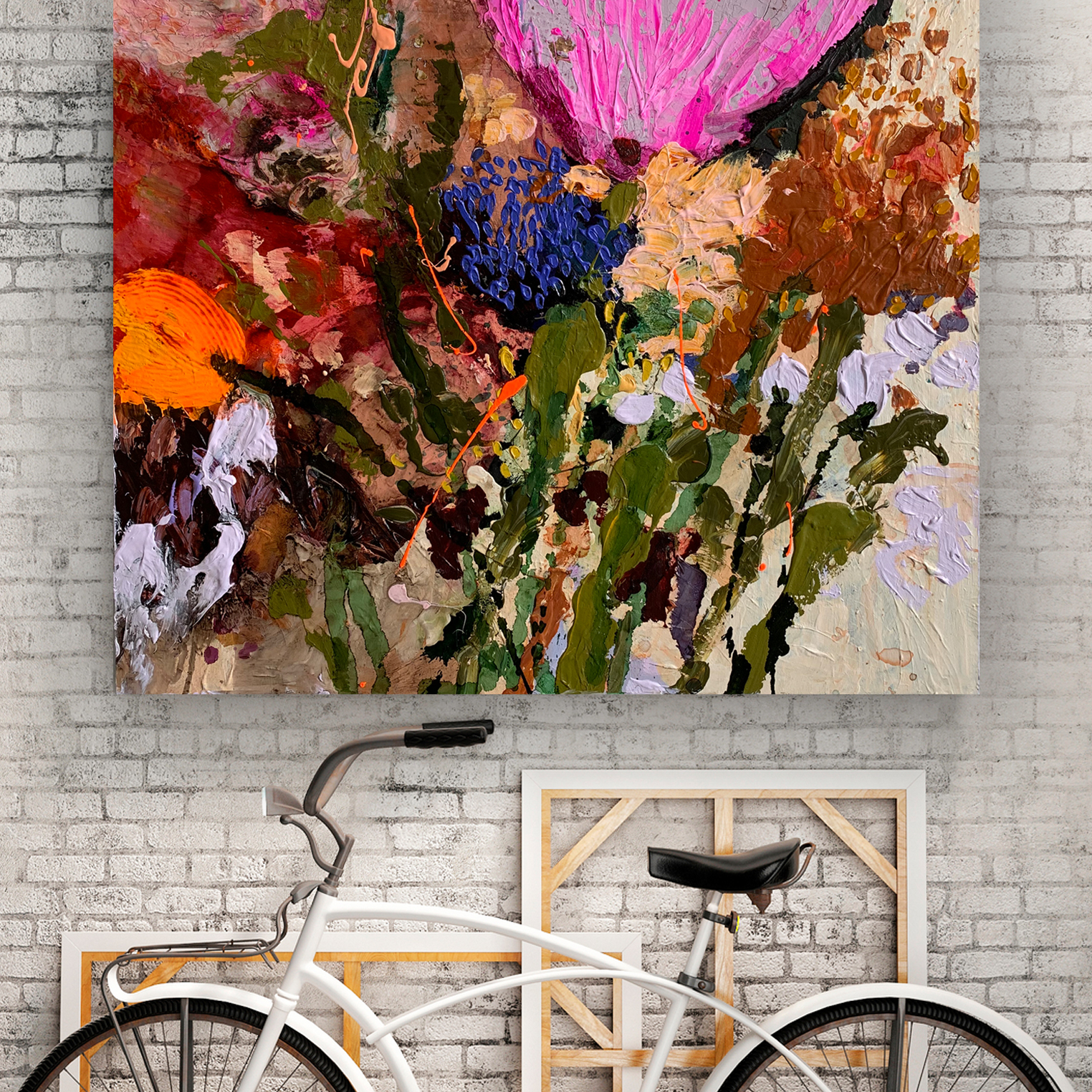 Original Art Australia by artist Jessica Skye Baker at the Baker Collection 'Cartel Flowers'