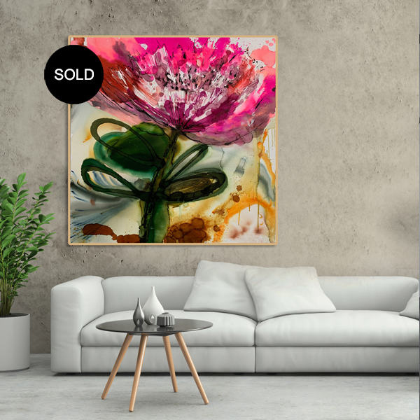 Modern Australian art for sale by abstract artist Jessica Skye Baker SOLD