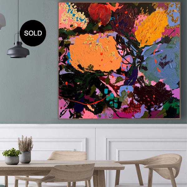 Original art buy online 'Allure' SOLD