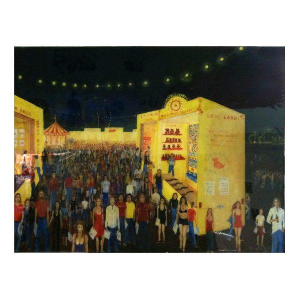 Steve Baker Geelong Artist 'Circus Parade'
