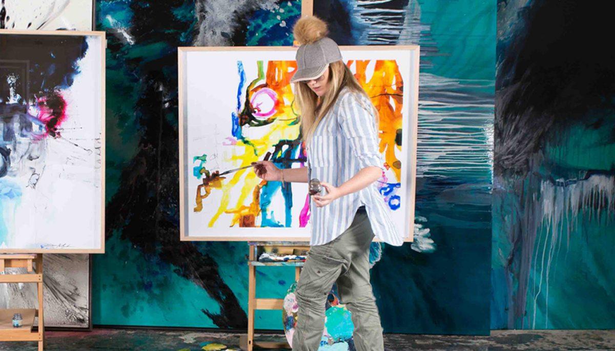 Artist Jessica Baker