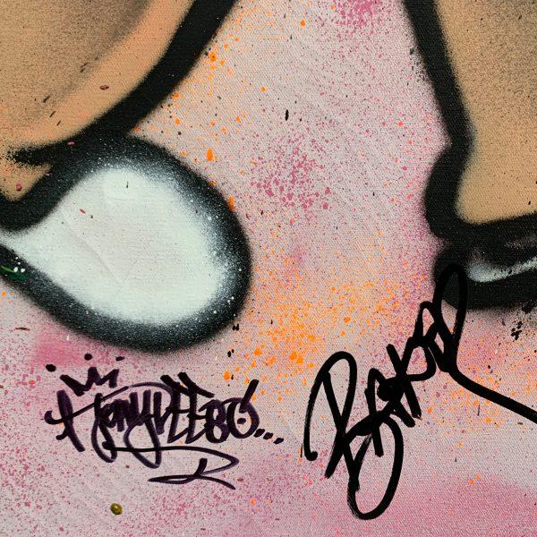 Street art buy Au Baker Collection Richie Rich Billionaire 'Bathroom Butler'