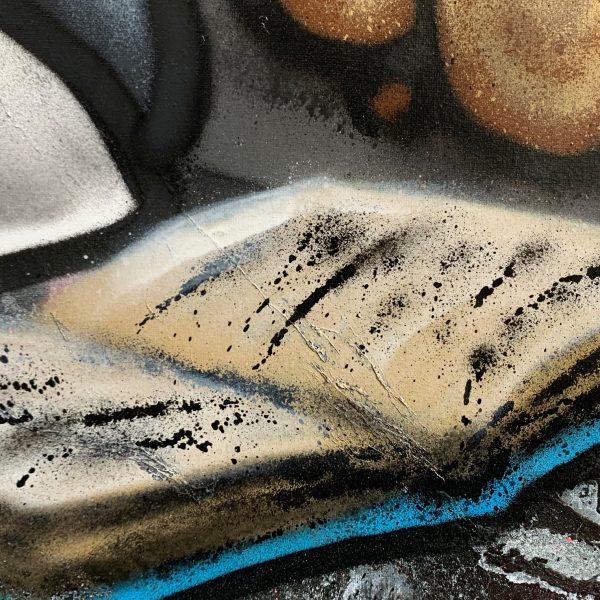 Baker Collection 'Burning Money' Detail