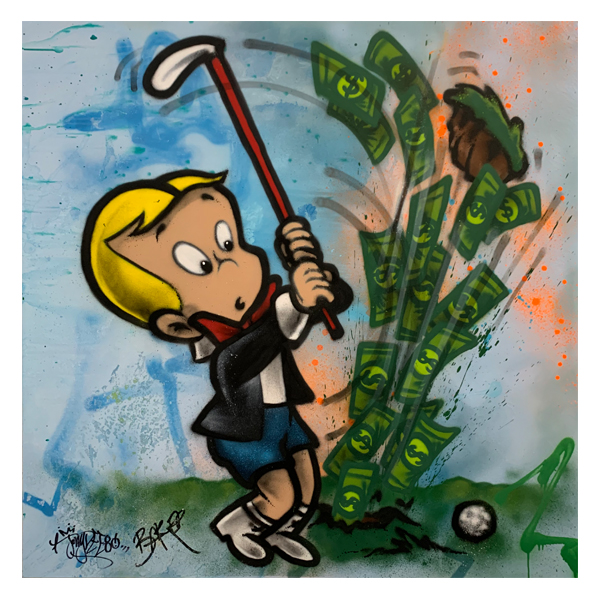 Baker Collection 'Hole in One' Richie Rich