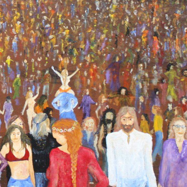 Baker Collection Australian Artist Steve Baker 'Sunbury'