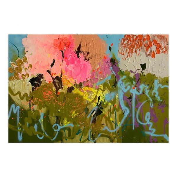 Abstract art buy Geelong direct from artist Jessica Baker