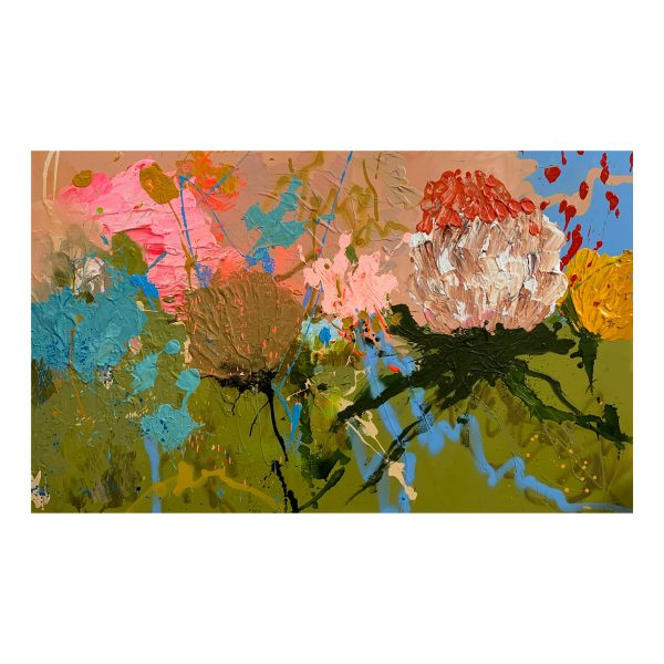 Large abstract art buy 'Grazia' at the Baker Collection