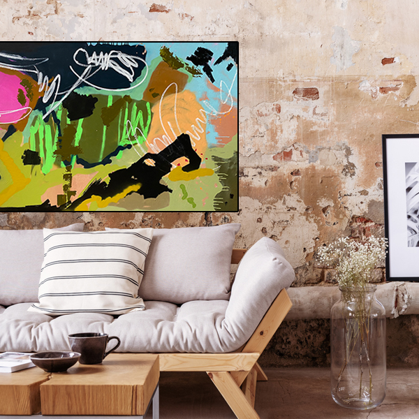 Buy modern art online 'Versace Tears' at the Baker Collection