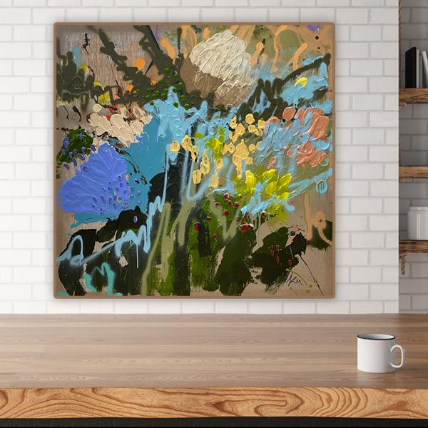 Modern original paintings Au by Jessica Baker
