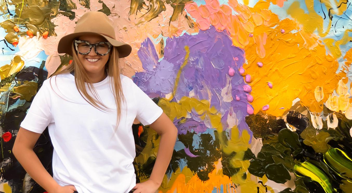 Australian artist Jessica Baker