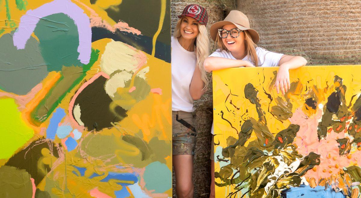 Buy big artworks online Nicki Comelli & Jessica Baker
