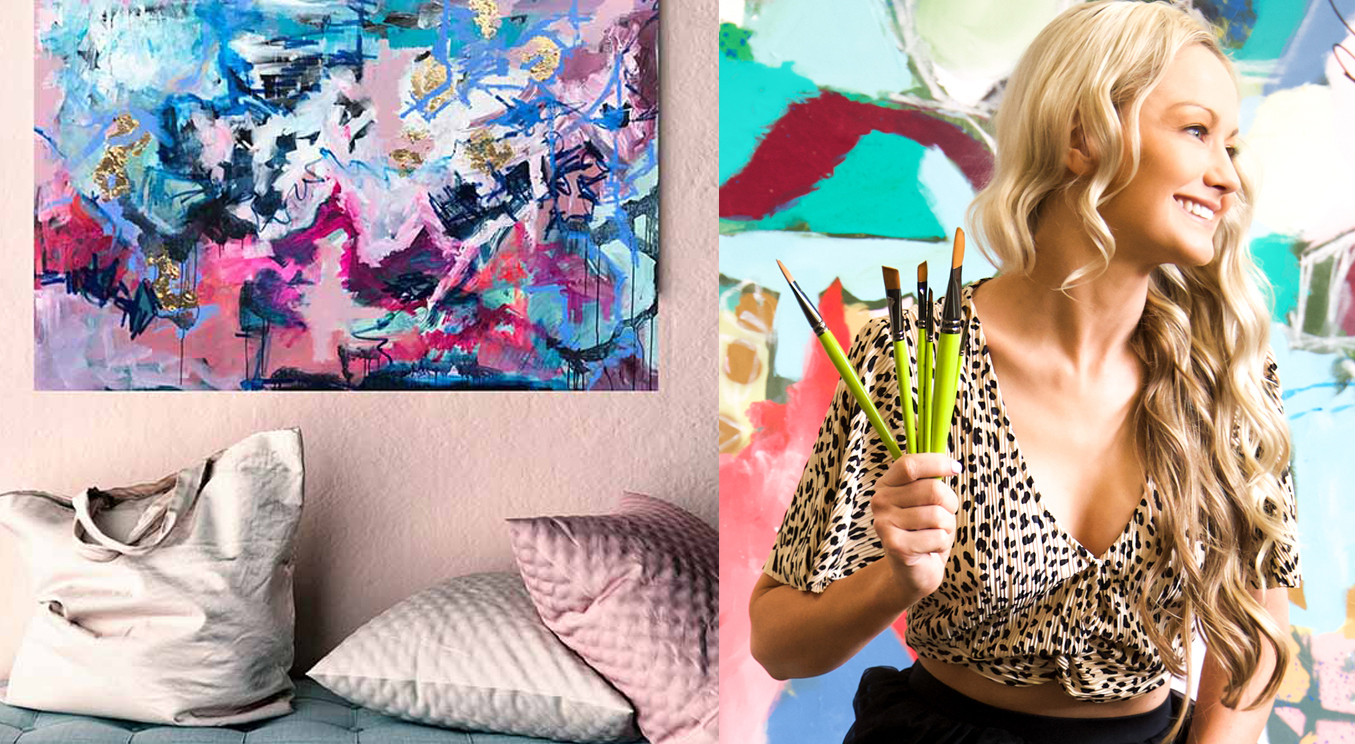 Nicole Baker Abstract Art