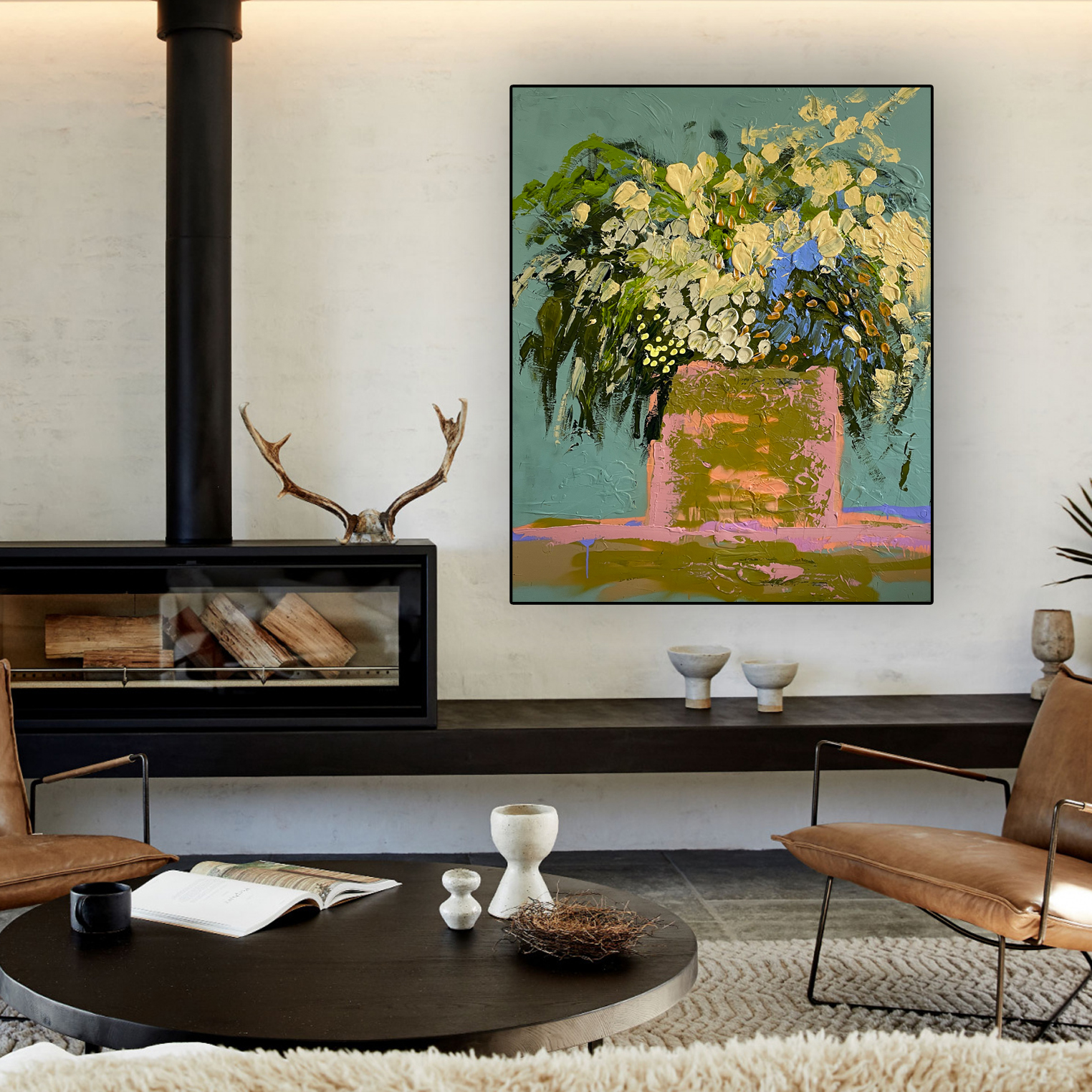 Original artworks Australia 'Home Among the Gum Trees' Baker Collection
