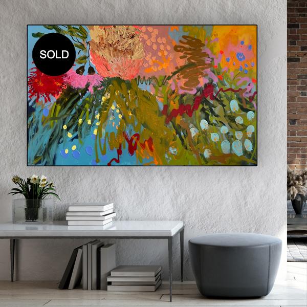 Modern Art Sale Mrs Banksy Sold