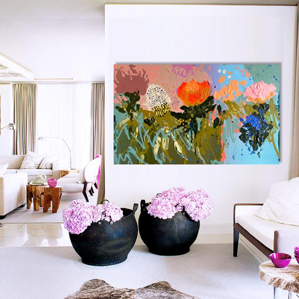 Jessica Vince artist 'Pastel Amour'
